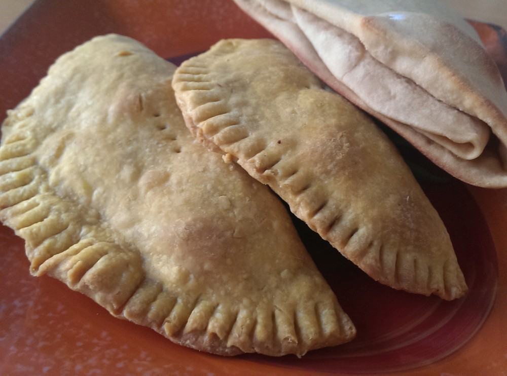 Jamaican Veggie Patties and Coco Bread | veganscratch